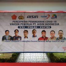 Peran Aktif Buruh TNI POLRI Vaksin Presisi untuk Percepatan Penanganan Covid 19